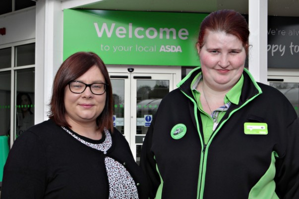 Colleague Lesley loves her role as personal shopper at Asda Coleraine