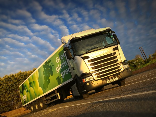 Asda lorry driver Ian McIlroy takes stunning pictures on his delivery route