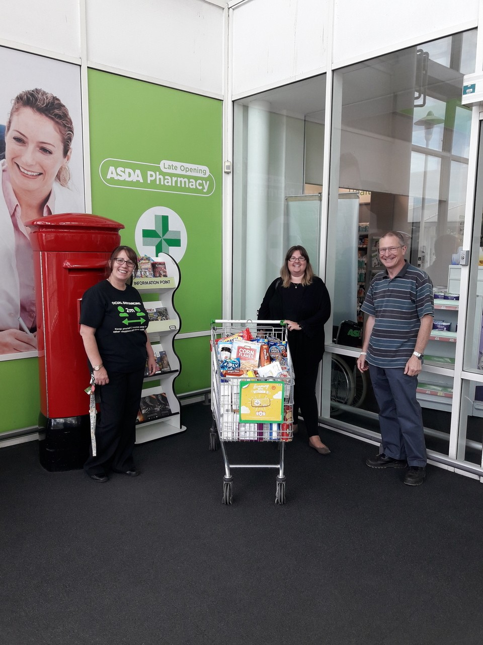 Donation to the Beacon Project | Asda Mansfield