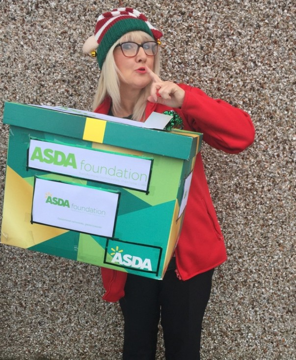 Jo Scott from Asda Pwllheli