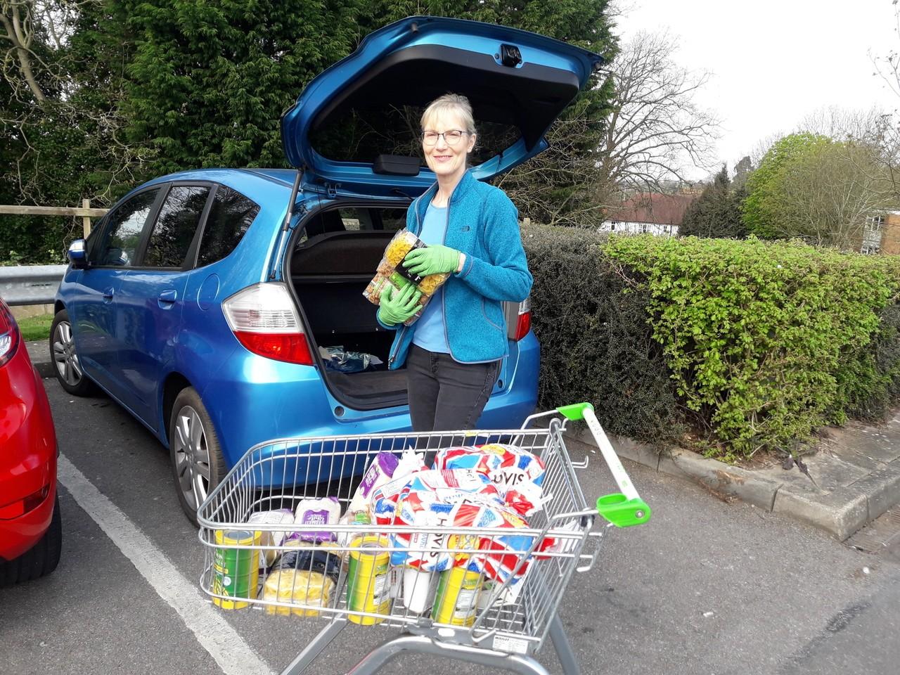 Donation to Oadby Foodbank | Asda Oadby