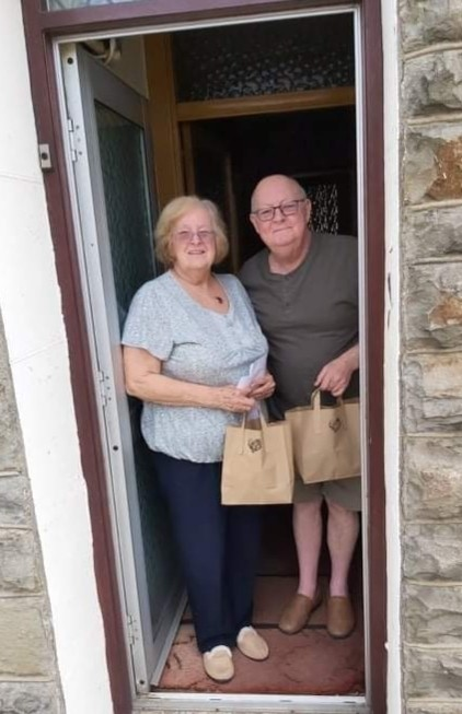 Care packages to residents | Asda Tonypandy