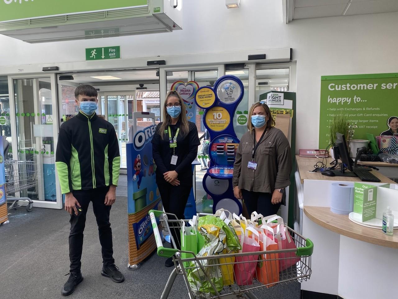 YMCA Essex donation | Asda Chelmsford
