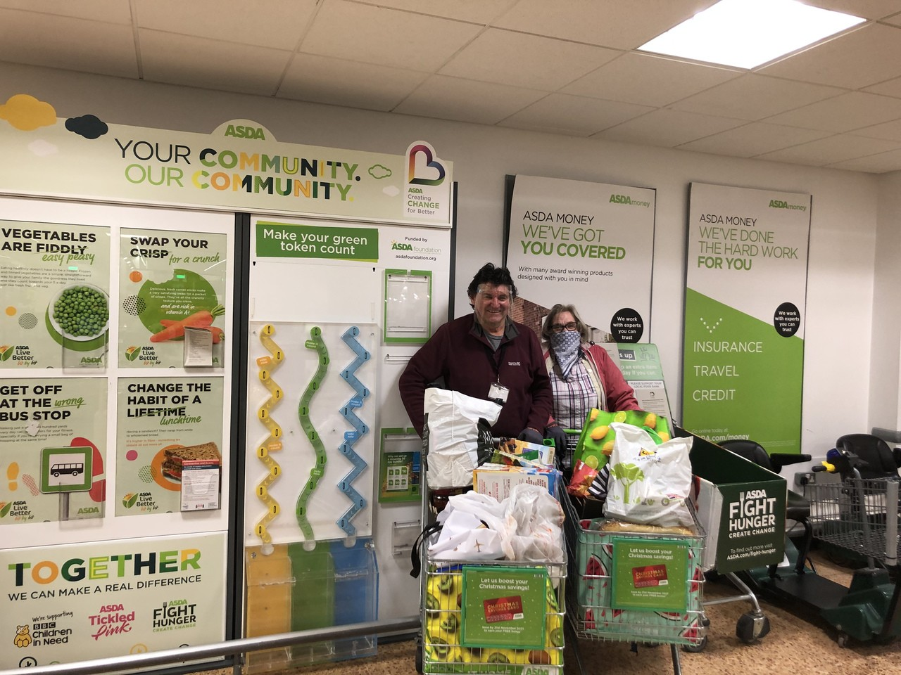 Thank you for your support | Asda Derby