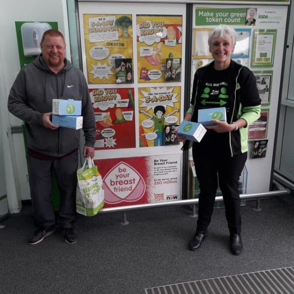 Asda donations to care homes
