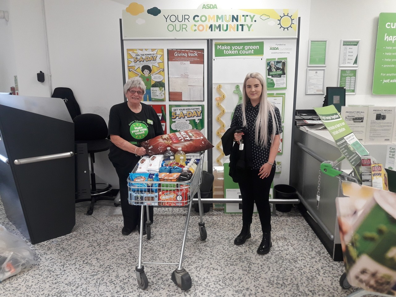 Donation to doctors' surgery | Asda Bedminster