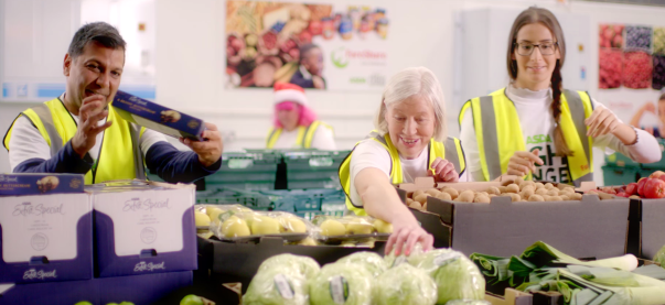 Leicester FareShare volunteer Christine Bromley