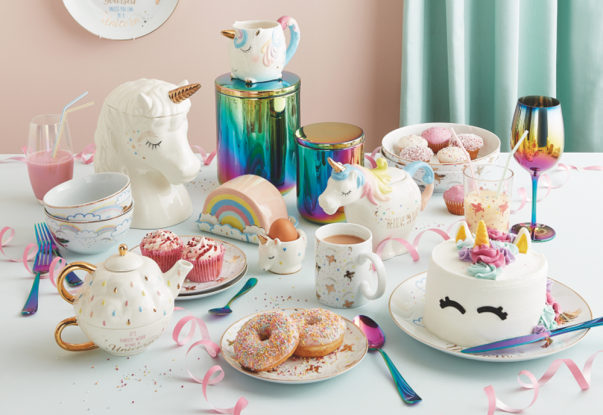 Iridescent kitchenware from George at Asda