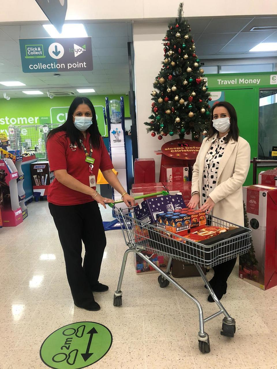 Donation of treats to SVI | Asda Great Bridge