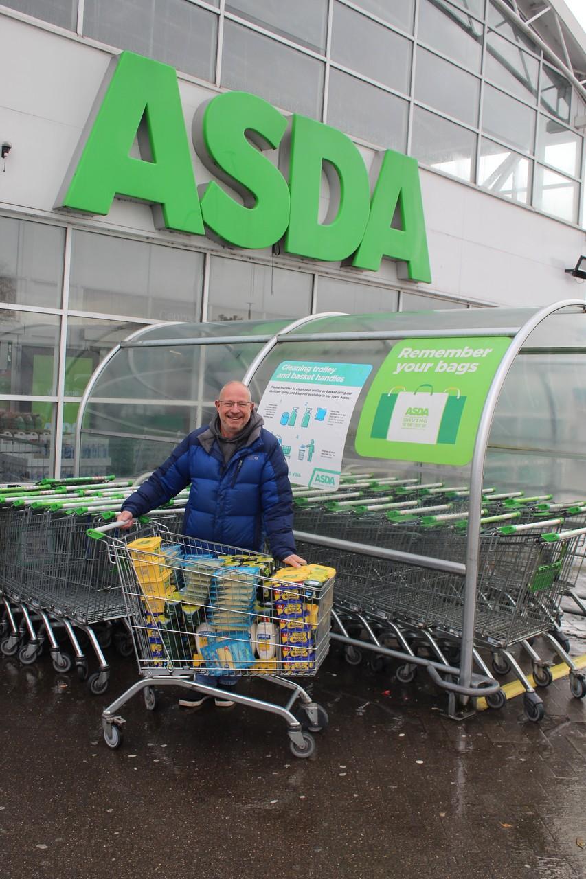Store donation to Urban Outreach | Asda Bolton