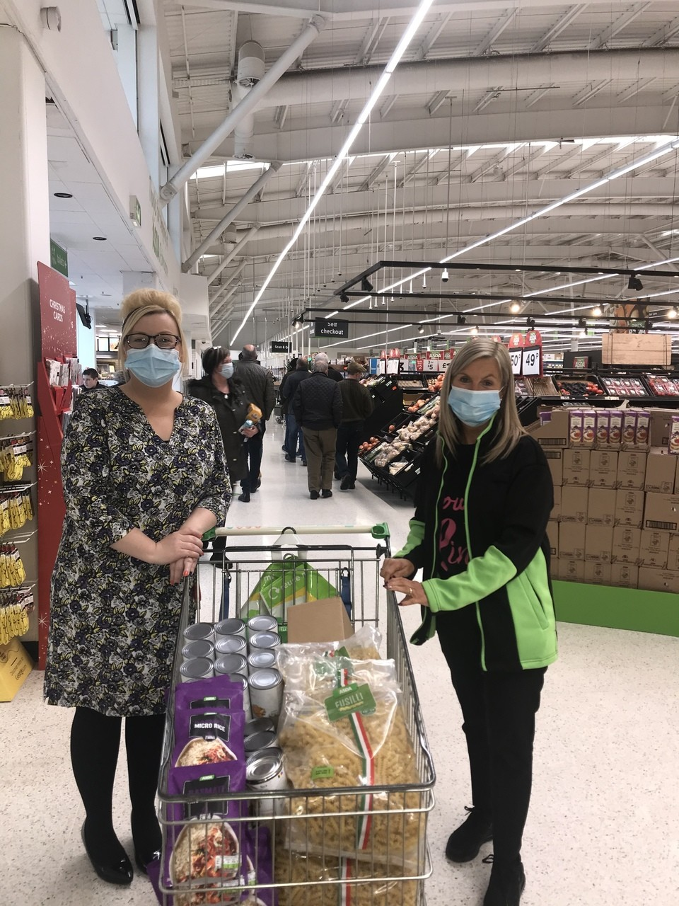 All Saints Secondary School food initiative | Asda Robroyston
