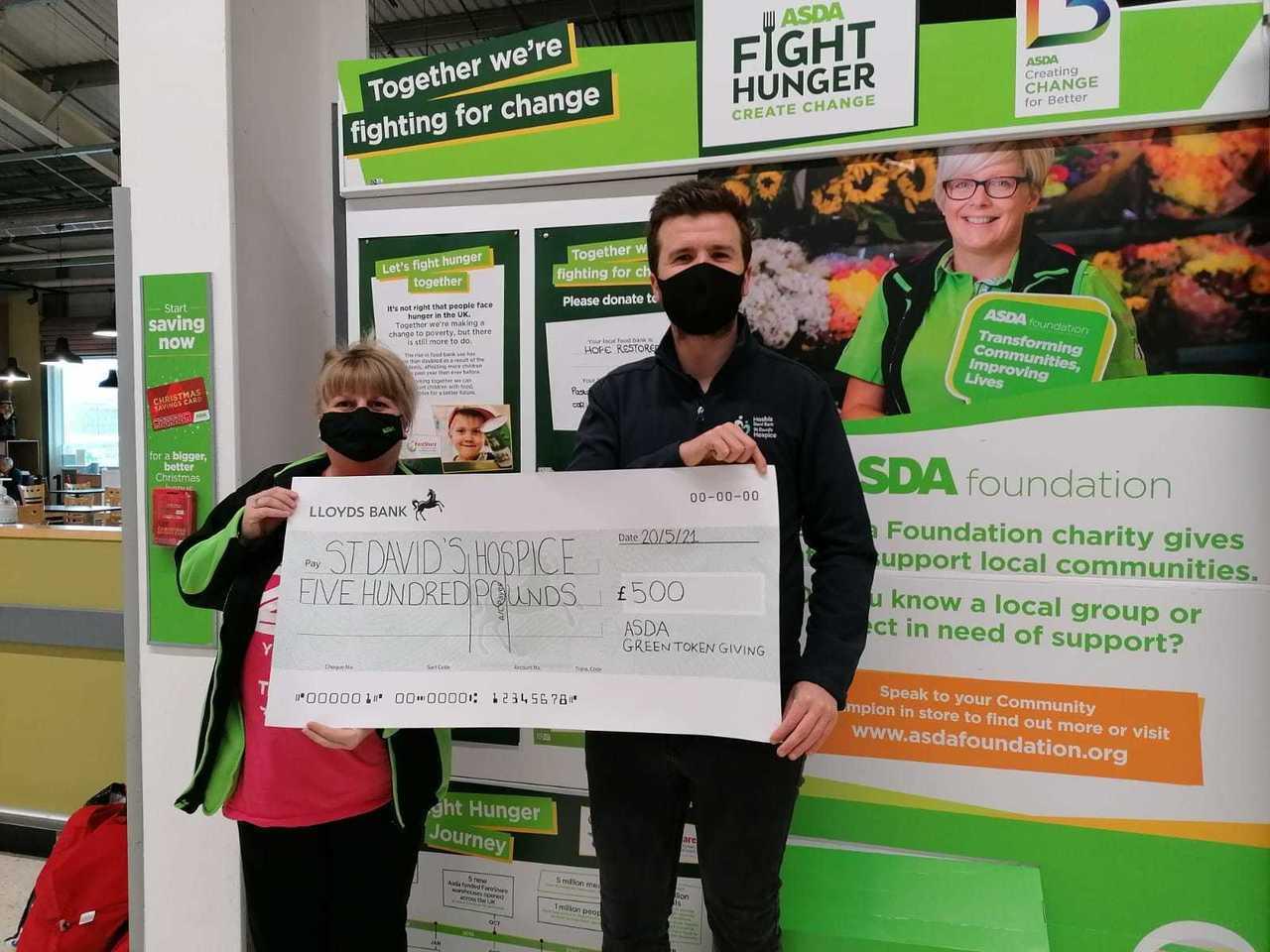 Digital Green Tokens winner | Asda Llandudno