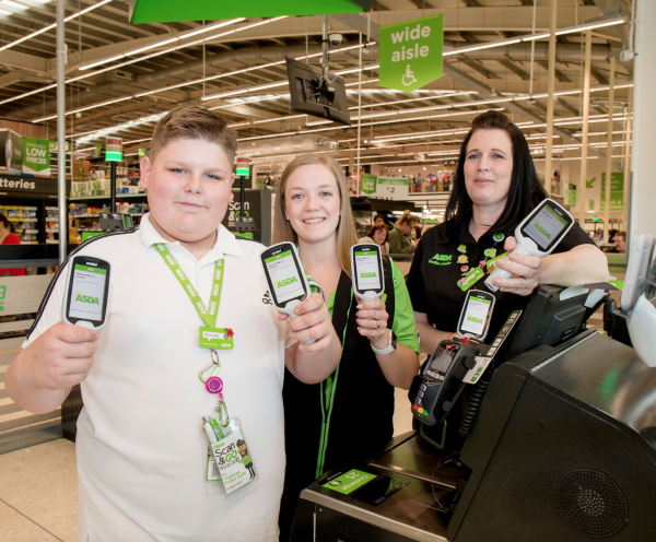 Teenager Finley Bushnell loves helping everyone at Asda Portsmouth
