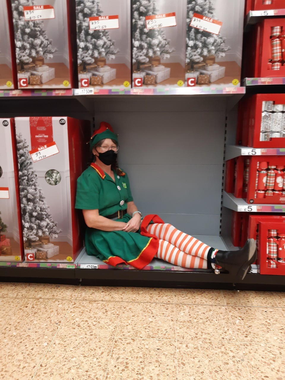 Our naughty little Asda Elves are causing us trouble today 😘🤶🎅🤣 | Asda Norwich