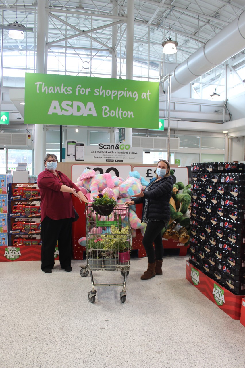 Plants to High Hopes for Halliwell | Asda Bolton