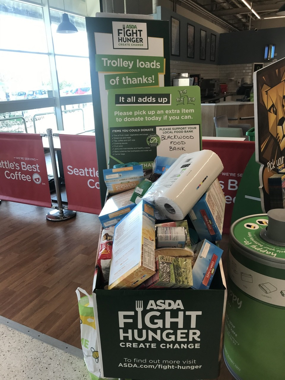 Food bank  | Asda Blackwood