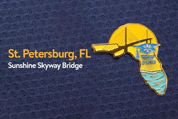 Walmart Academy Pin - St. Petersburg, Florida