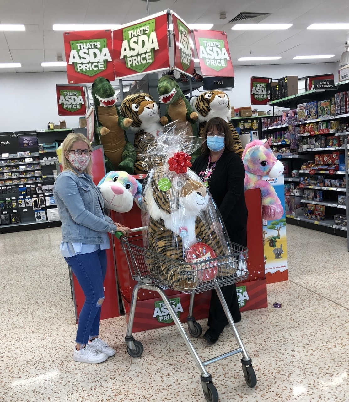 Raffle donation | Asda Downpatrick