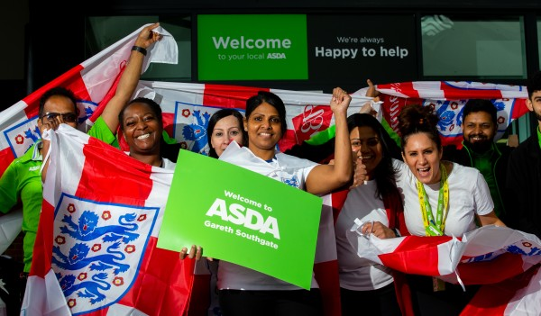 Asda Southgate has been renamed in honour of England manager Gareth Southgate