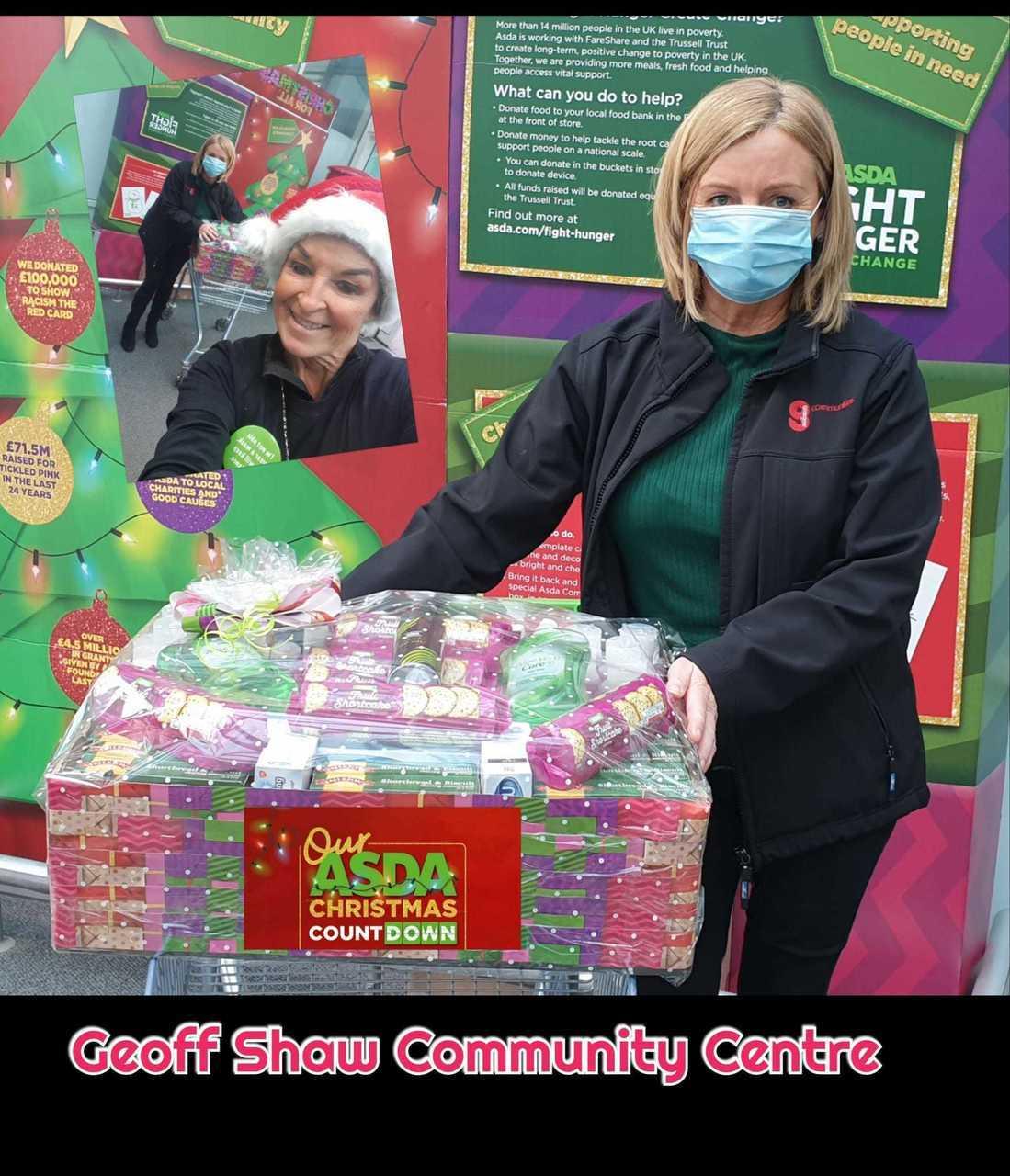 Christmas celebrations at local care homes | Asda Toryglen