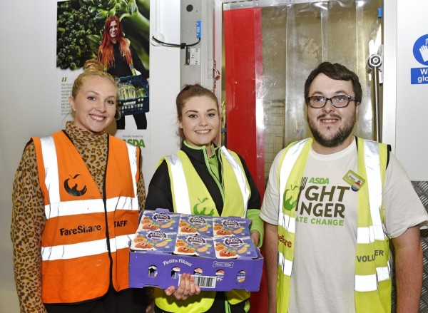 FareShare to provide 550,000 additional meals to vulnerable people thanks to Asda Investment