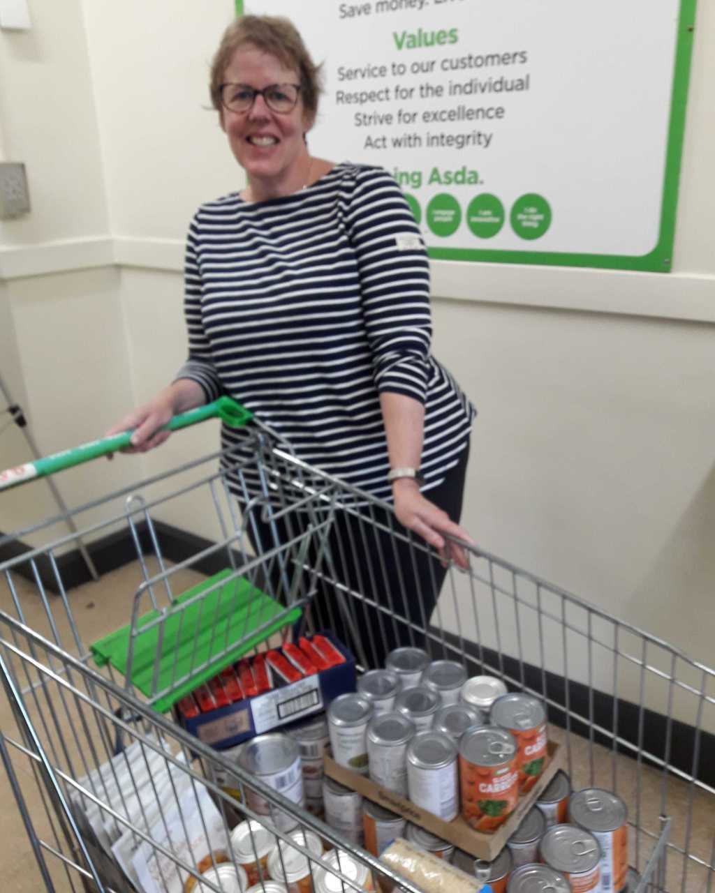 Food support for the community   Asda Bromborough