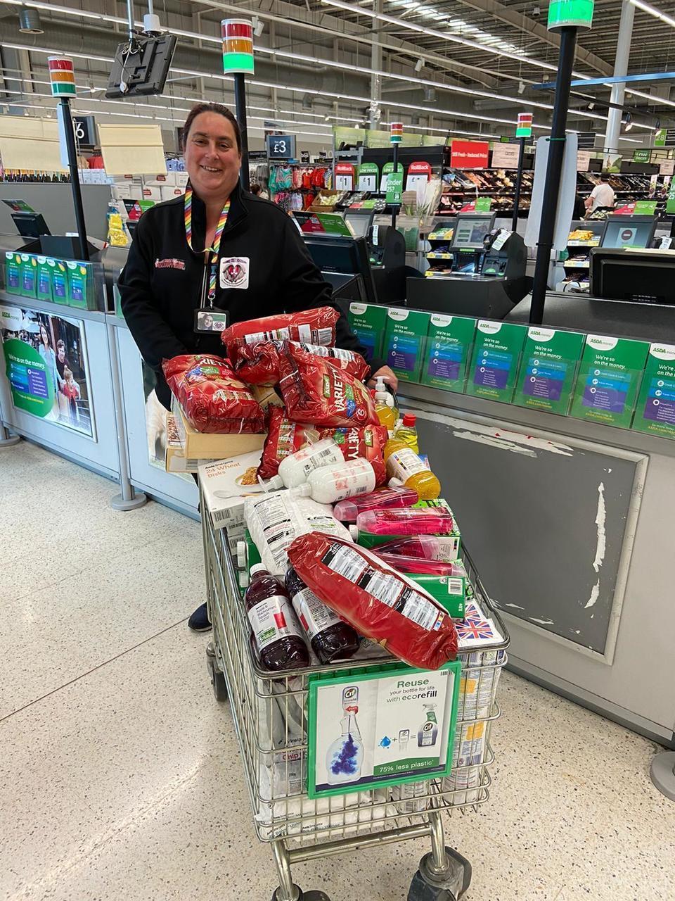 Food bank donation | Asda Hessle