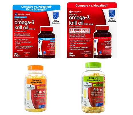 Krill Oil/Fish Oil