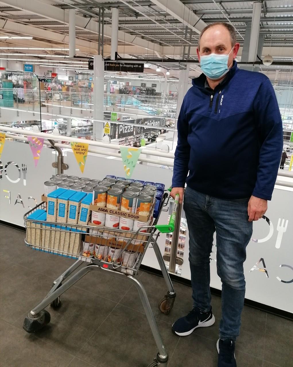 Motherwell Foodbank Donations | Asda Motherwell