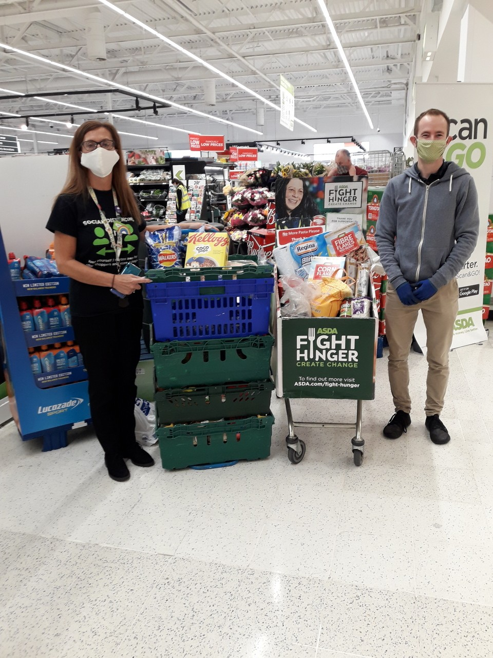 Open Hands visit | Asda Oadby