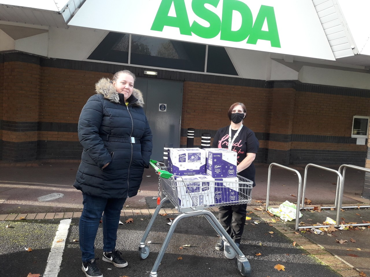 Donation to club | Asda Newport