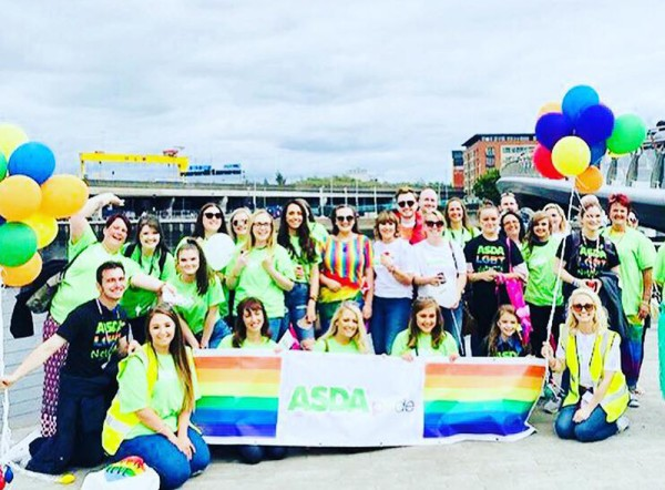 Asda supports Belfast Pride