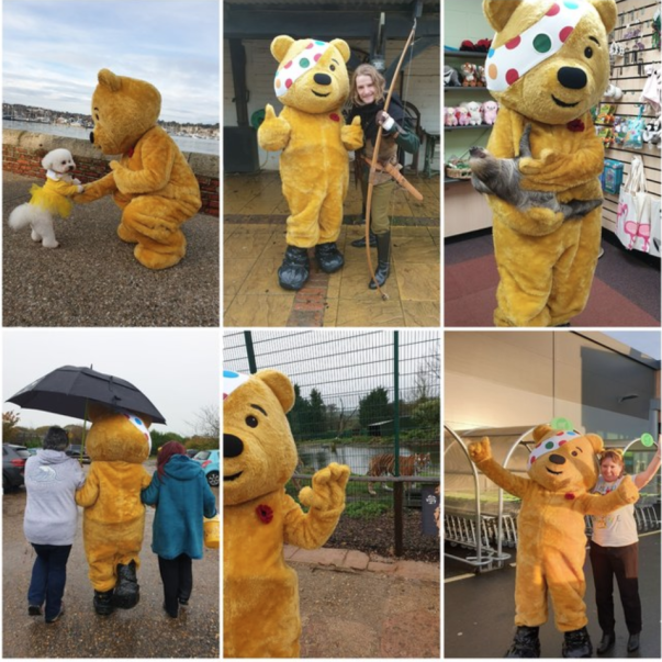 Colleagues at Newport Isle of Wight raise money for Children in Need
