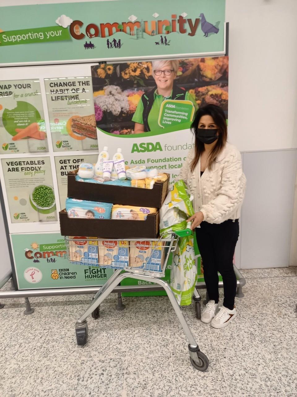 Baby bank donation | Asda Hyson Green