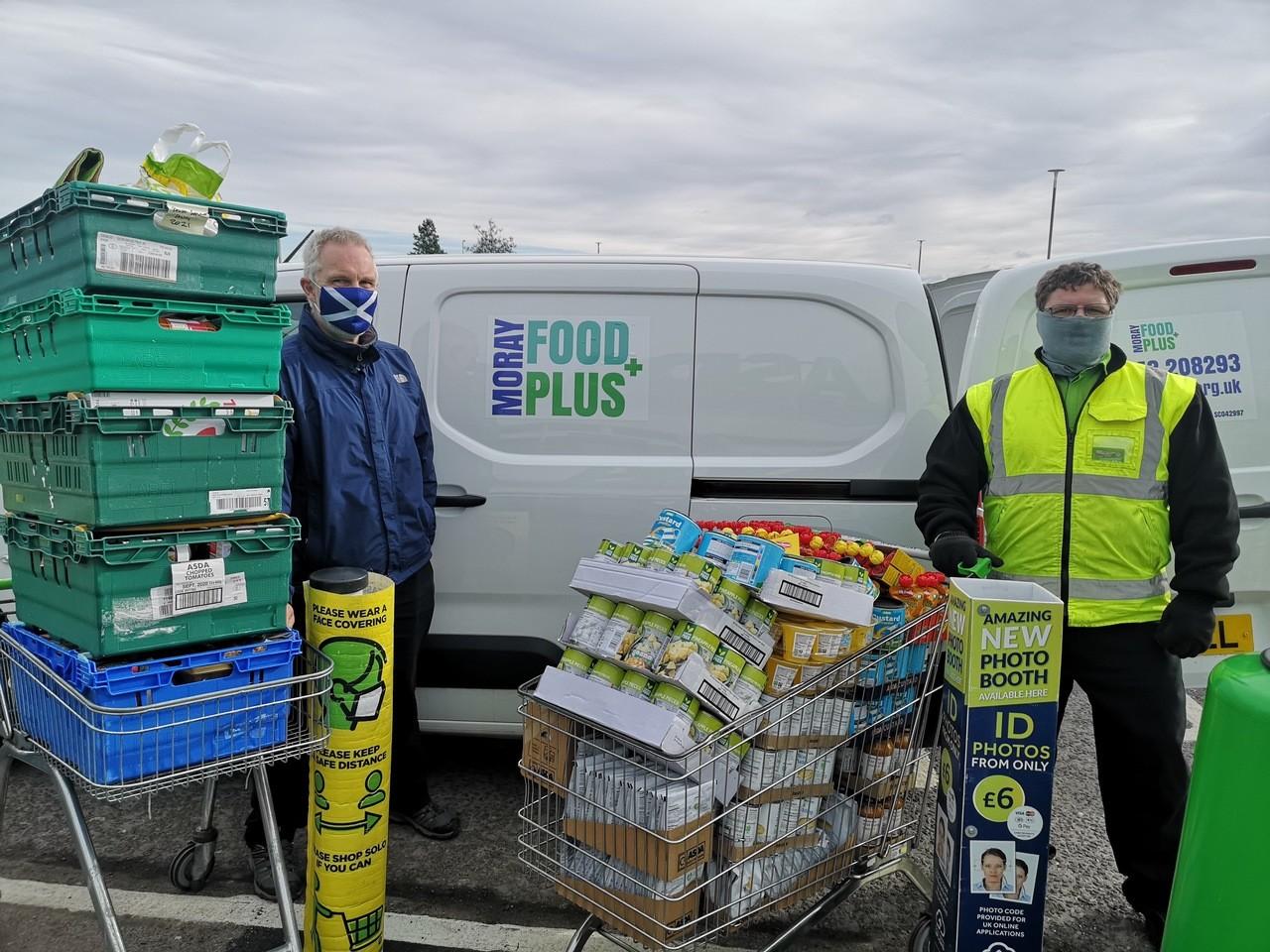Moray Food Plus donation | Asda Elgin