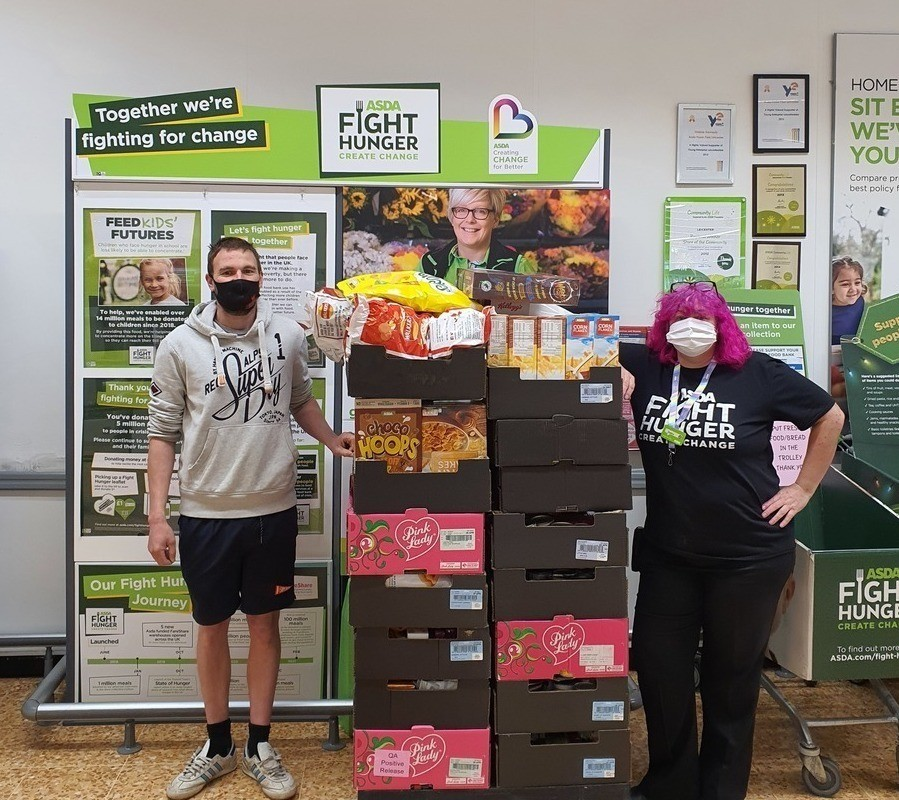 Fight Hunger has started at Fosse Park | Asda Leicester
