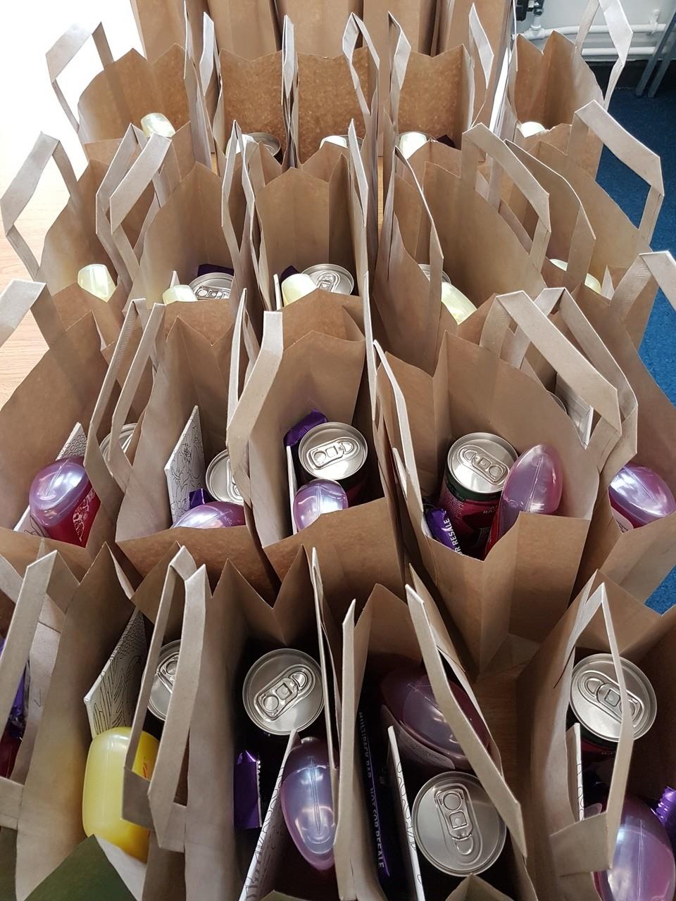 Pamper bags for hospice | Asda Pilsworth