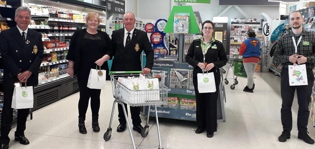 Gift bags for veterans | Asda Fraserburgh
