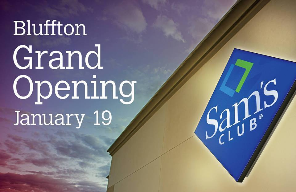 Brand New Sam\'s Club Opens Doors in Bluffton this Thursday - Sam\'s ...