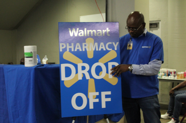 Walmart Pharmacy Drop Off Photo - Hurricane Harvey