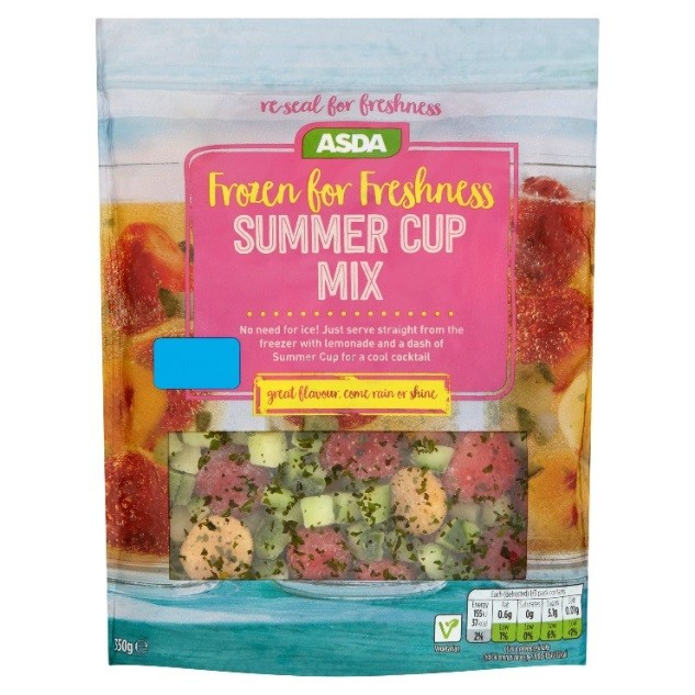 Asda launches new frozen pimms mix just in time for for What to mix with pimms