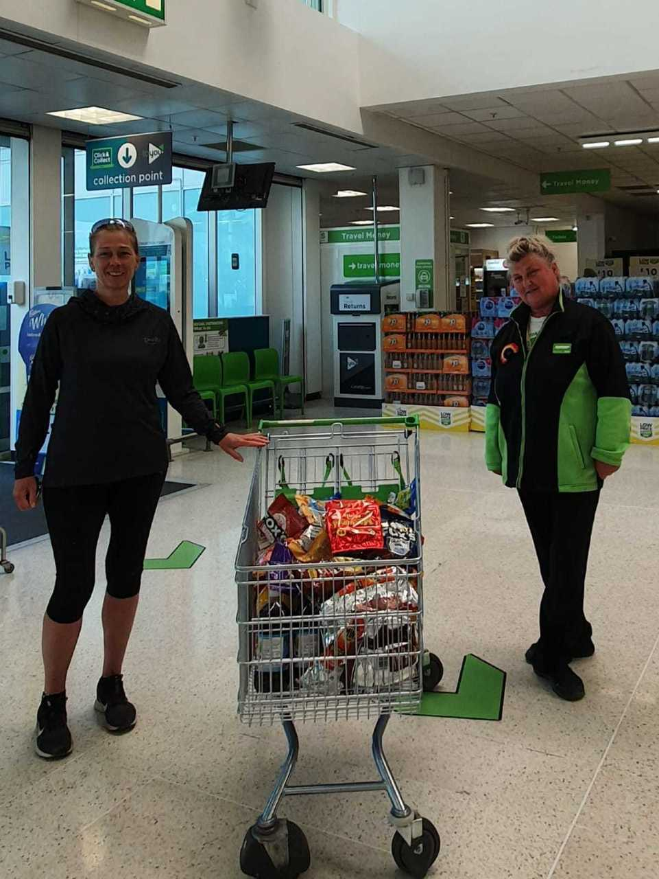 Hospital donation | Asda Queslett