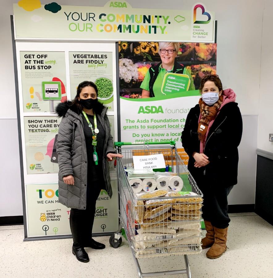 Care Foodbank donation | Asda Feltham