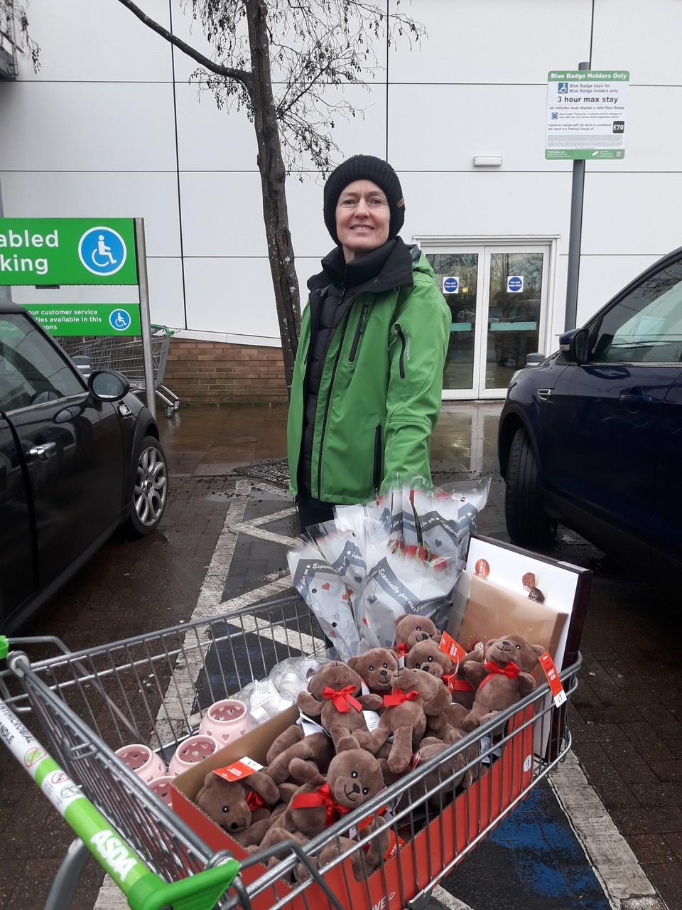 Valentine's donations | Asda Kingshill