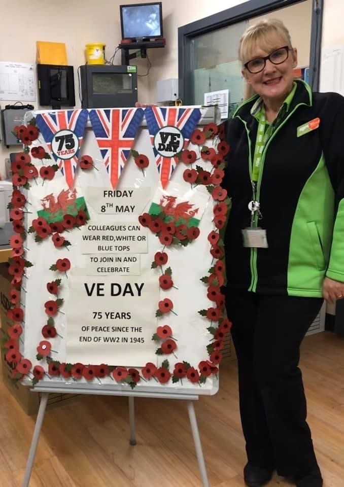 VE Day celebrations | Asda Pwllheli