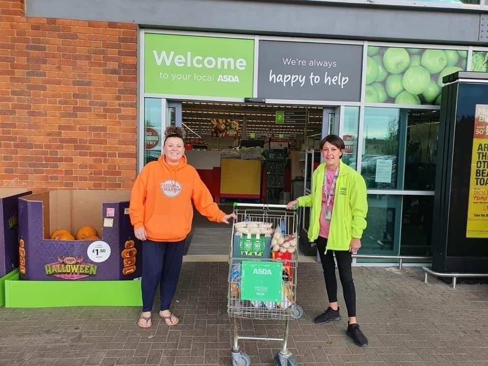 Feed Up Warm Up donation  | Asda Biggleswade
