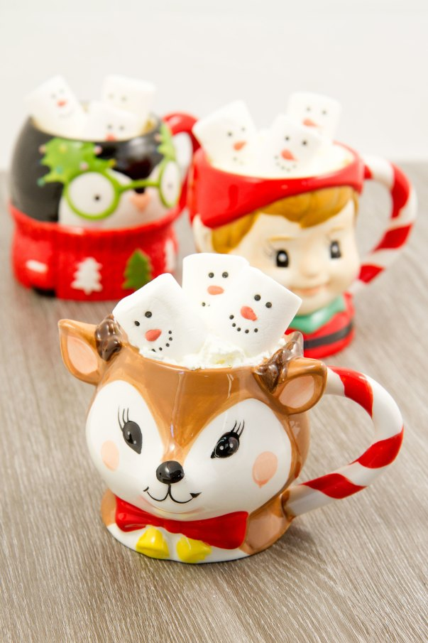 Asda Christmas mugs
