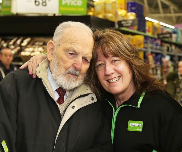 Asda Dunstable customer Trevor Hughes