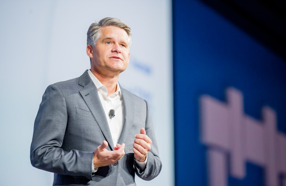 Brett Biggs, Walmart Executive Vice President and Chief Financial Officer speaking