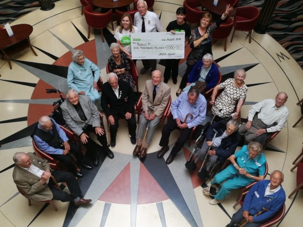 Asda Foundation grant for veterans' charity Project 71